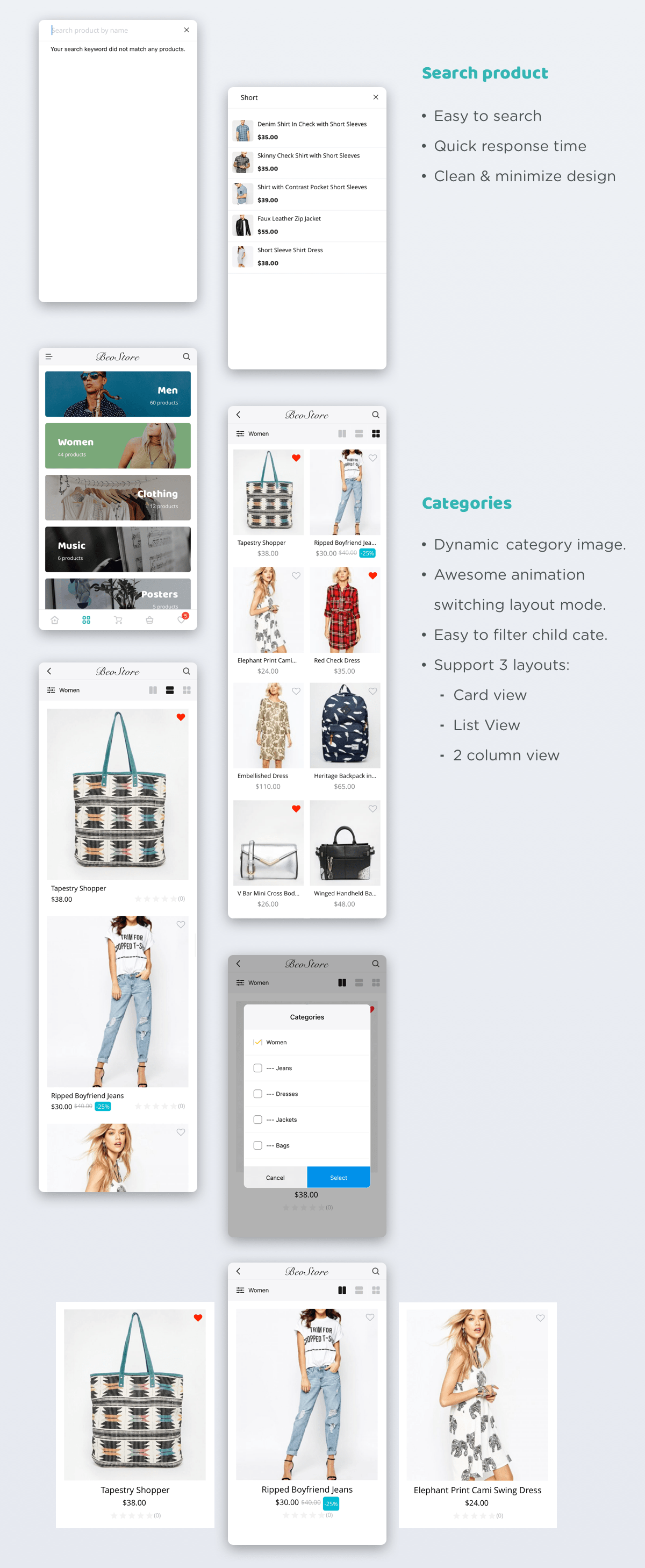 MStore Pro - Complete React Native template for e-commerce - 23