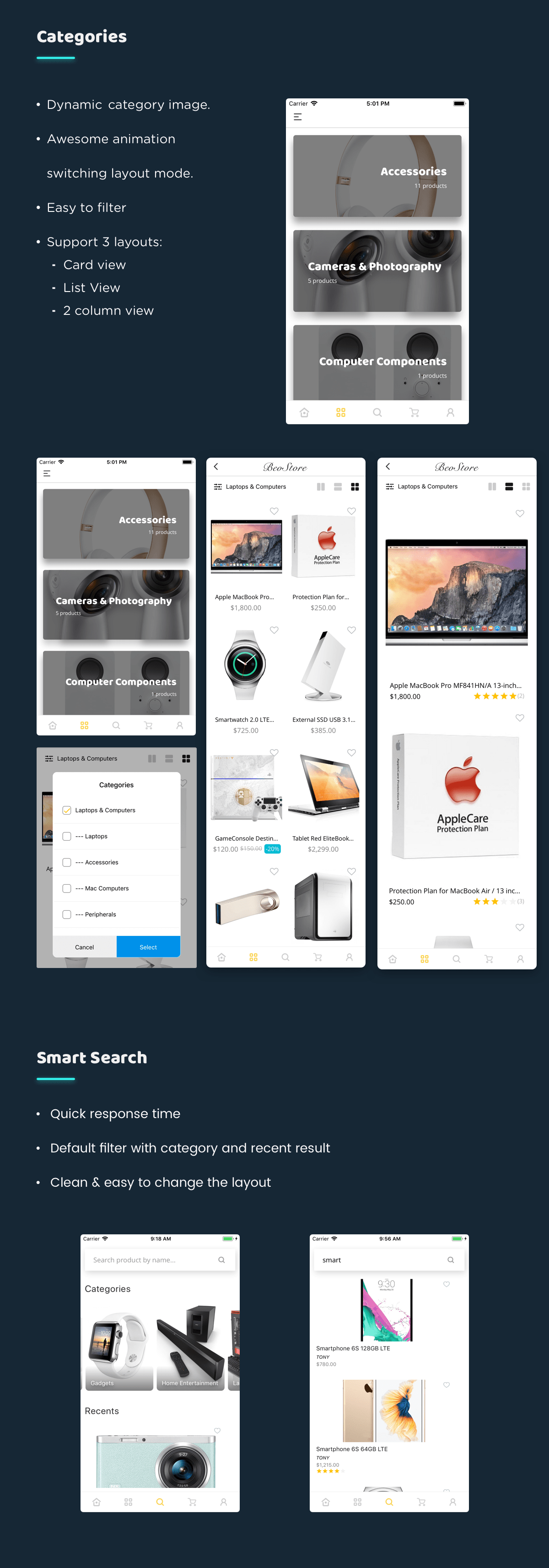 MStore Multi Vendor - Complete React Native template for WooCommerce - 19