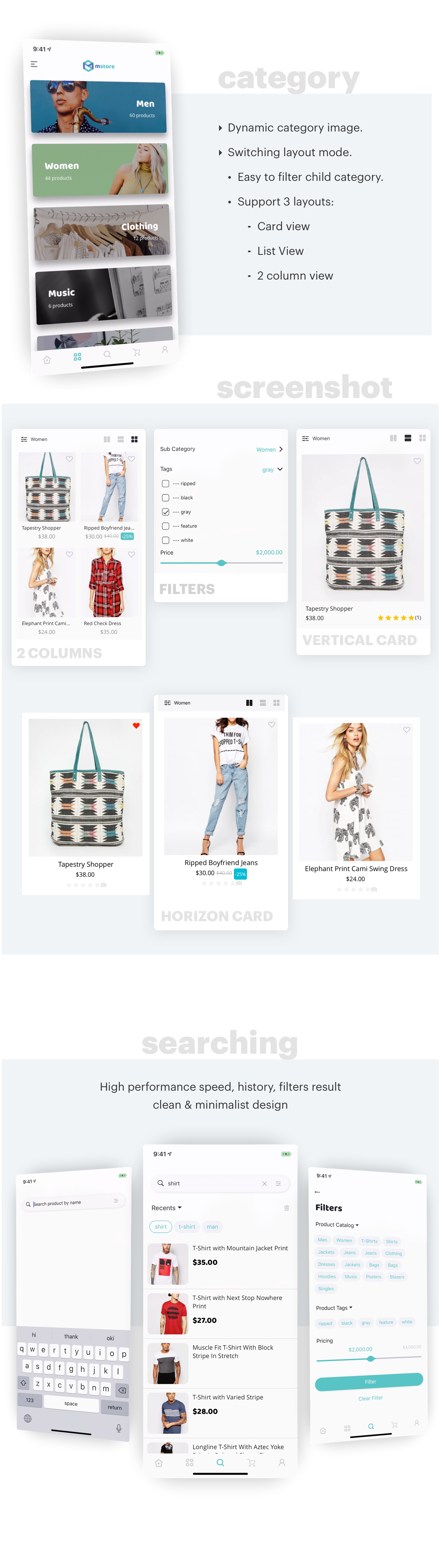 MStore Pro - Complete React Native template for e-commerce - 17
