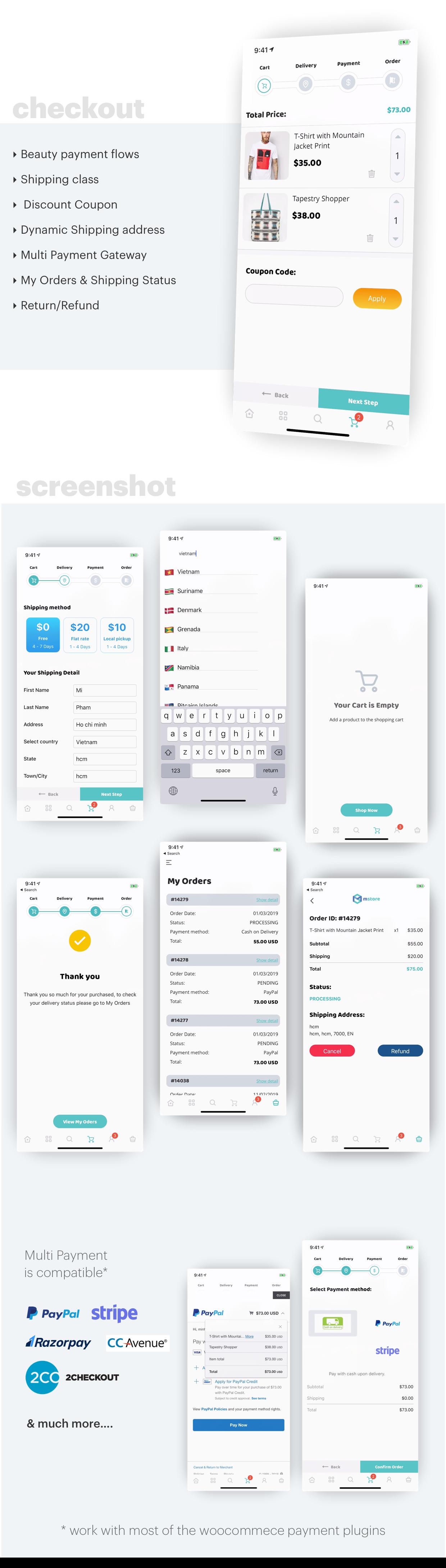 MStore Pro - Templat Lengkap React Native untuk e-commerce - 18