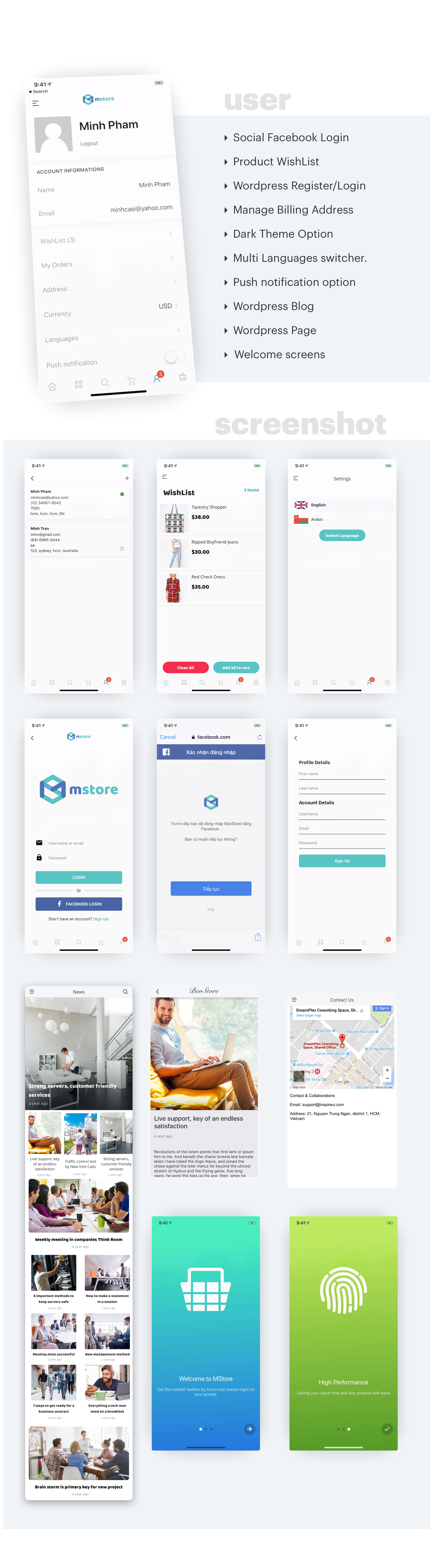 MStore Pro - Complete React Native template for e-commerce - 19